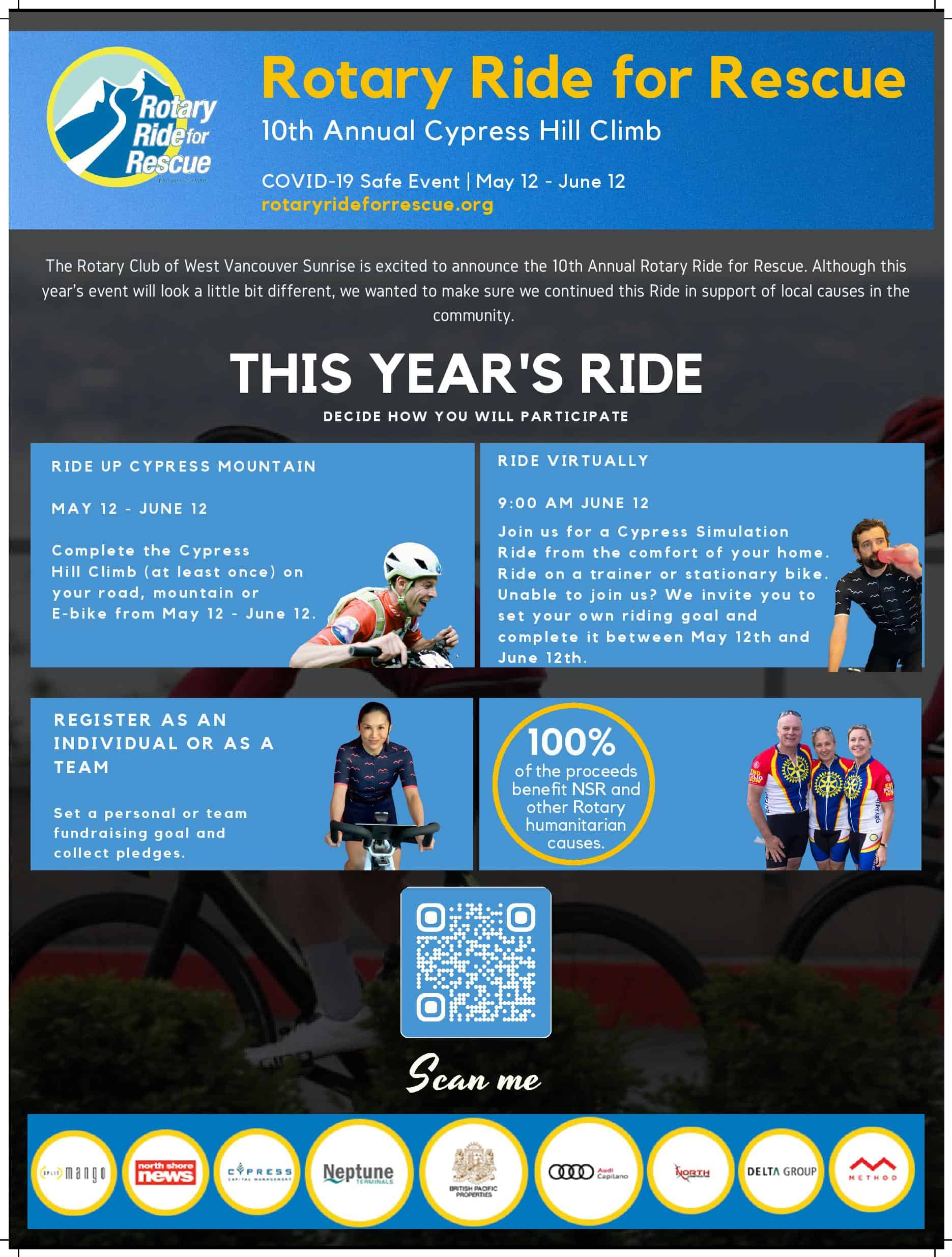 2021 Rotary Ride Poster image